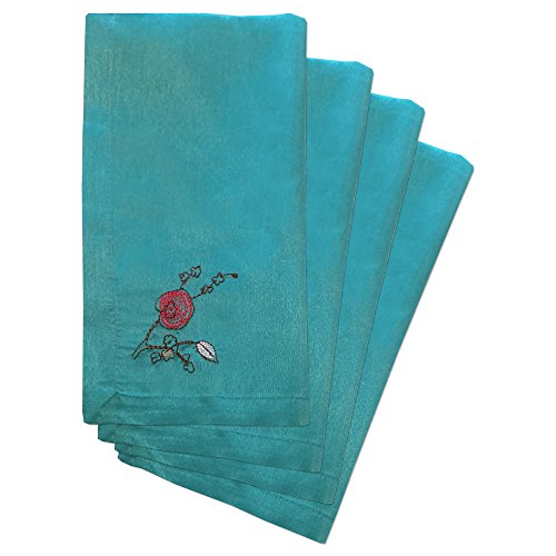 Lenox Chirp Embroidered Napkins, Set of 4, ()