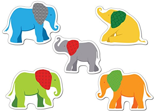 Parade of Elephants Cut-Outs ()