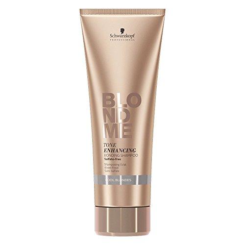 Schwarzkopf Professional BlondMe Cool Blondes Tone Enhancing Bonding Shampoo 250ml Tone Color Enhancing Shampoo