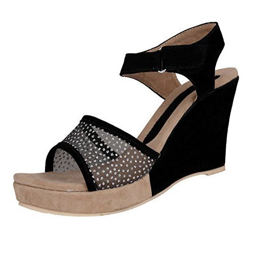 115b41d1d43 KaryJerry Partywear Stylish   Comfortable Low Price Best Wedges For Women s   Buy Online at Low Prices in India - Amazon.in