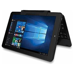 "RCA Cambio 10.1"" 2-in-1 Touchscreen Windows 10 Tablet PC Intel Quad-Core Processor 2GB RAM 32GB Hard Drive Webcam Wifi Windows"
