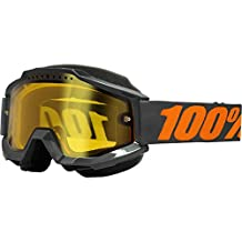 100% unisex-adult Goggle (Grey/Yellow,One Size) (ACCURI SNOW ACC SNOW Grey / Yellow Lens)
