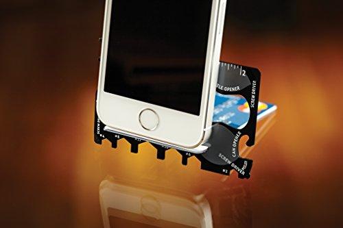 Wallet Ninja 18 in 1 Multi purpose Credit Card Size Pocket Tool