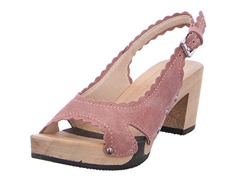 Softclox Sandalias de Vestir de Piel Para Mujer Rosé