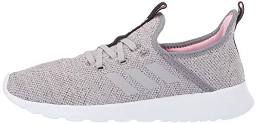 adidas Women's Cloudfoam Pure, Grey/True Pink, 5 M US by adidas (Image #5)
