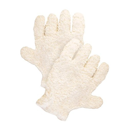 Dog Fur Drying Gloves - Cream by Pura Naturals Pet