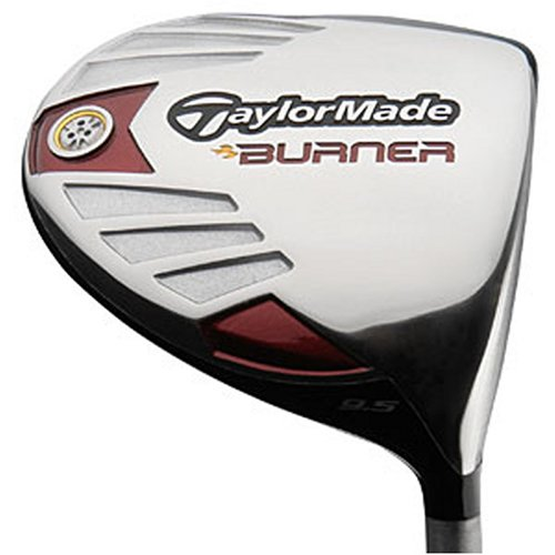 TaylorMade Men's Burner 460 Ti Driver (Right-Handed, 10.5 Degree Loft, RE-AX SuperFast 50 Graphite Stiff Shaft) ()