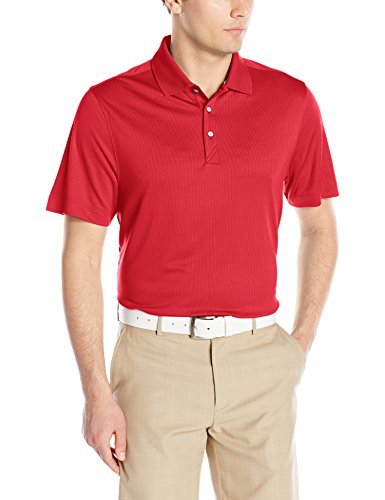 Cutter & Buck Men's CB Dry Tec Glendale Polo, Red, Small