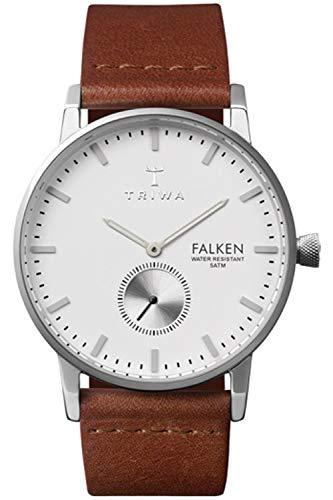 Triwa falken Unisex Analog Japanese Quartz Watch with Leather Bracelet FAST103CL
