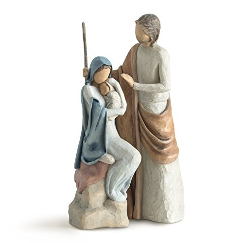 (Willow Tree The Christmas Story, sculpted hand-painted nativity figures)