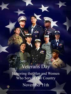 Veterans Day Poster Vet5 Honoring the Men and Women who Served Our Country