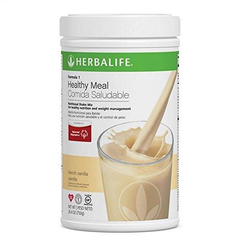 Herbalife Formula 1 Healthy Meal Nutritional Shake Mix (10 Flavor) (French Vanilla) (Herbalife Formula 1 French Vanilla Shake Recipes)