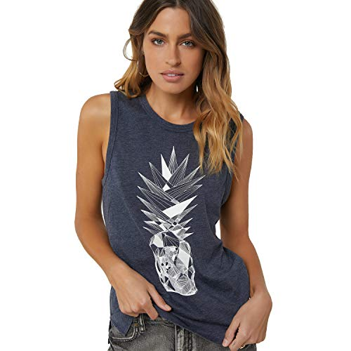 O'Neill Women's Lineage Tank-top, Vintage Black - Large