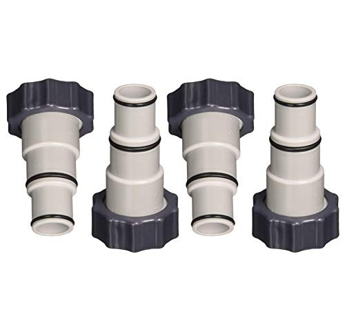 - Intex Replacement Hose Adapter A w/Collar for Threaded Connection Pumps (2 Pairs) - 4 Pieces