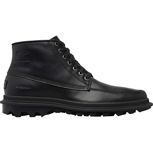Mens Boot Chukka Shell - Sorel - Men's Ace Chukka Waterproof Non Shell Boot, Size: 11.5 D(M) US, Color: Black/Black