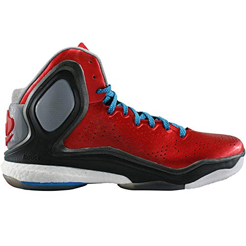 adidas D Rose 5 Boost Mens Basketball Sneakers/Shoes-Red-14.5