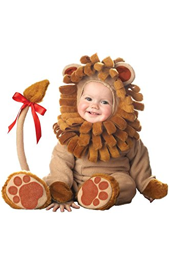 InCharacter Lil' Lion Infant Costume-Small (6-12) ()