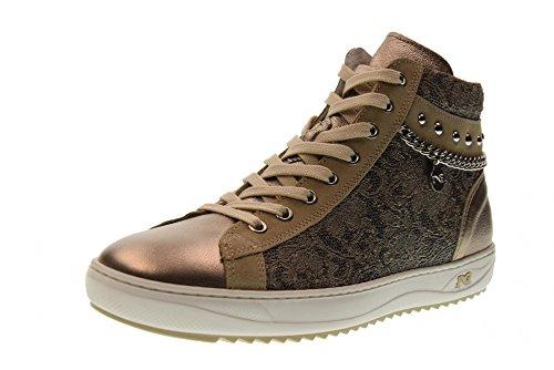 Den Giardini P805082d Kvinder Bronze Nero Sneakers 312 wEtqnRRd