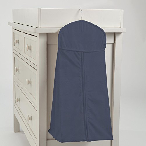 Carousel Designs Solid Navy Diaper Stacker by Carousel Designs