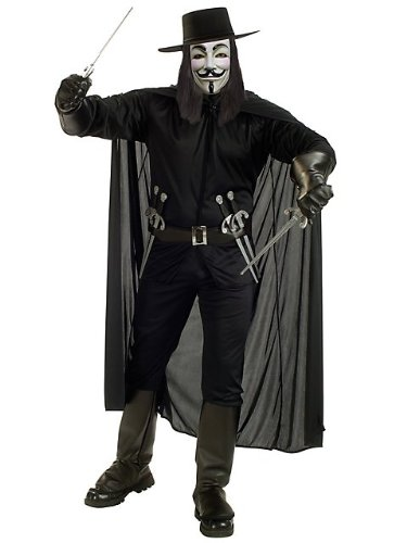 Rubie's Costume Co - Men's V for Vendetta Costume