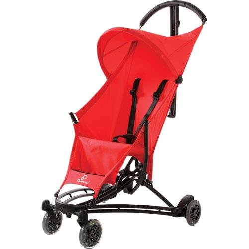 Quinny Yezz Stroller Frame WITH Seat Cover (Red Signal)