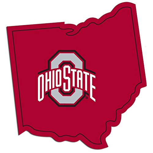 One Size FANMATS ProMark NCAA Ohio State Buckeyes Decal Set Mini Team Color 12 Pack