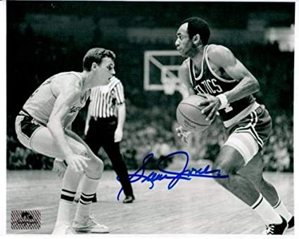 Sam Jones Autographed Signed Auto Boston Celtics BW Horiz 8x10 Photograph -  Certified Authentic bca3de0da