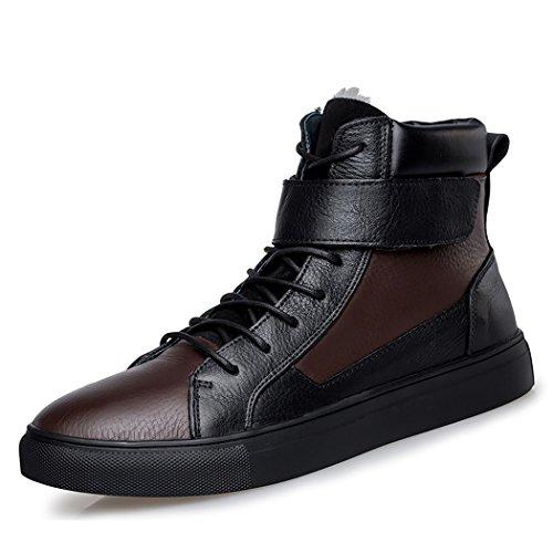 Brown Black Alla Goorape uomo Caviglia Cinturino Con Awpzaxgqf
