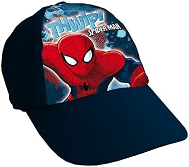 c2c829c4 Marvel Spider-Man Boys Baseball Cap Childrens Hat: Amazon.co.uk: Clothing