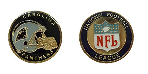 (Collectible Challenge Coin- Logo Poker- Lucky Chip for Panthers)