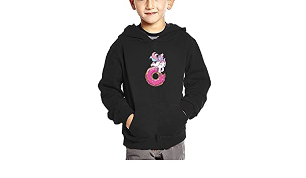 JasonMade Unicorn Pink Kids Fashion Popular Hooded Hoodies With Pocket