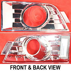 FORD EDGE 07-10 FRONT BUMPER INSERT, RH , w/ Fog Lamps Cover, w/Lamps hole