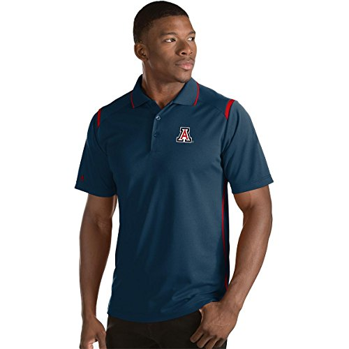 Antigua Red Classic Shirt (ANTIGUA MEN'S ARIZONA WILDCATS MERIT POLO SHIRT NAVY/RED)