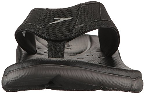 Speedo Men's on Deck Flip Sandal Black/Grey NUTsfXR