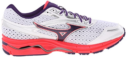 Mizuno Womens Wave Legend 3 Running Shoe White/Purple E3vPR