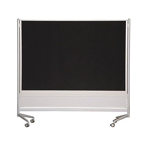(Balt Mobile Double Sided Divider Dura-Rite HPL Markerboard Hook and Loop DOC Room Partition 6'H x 4'W electronic consumers)
