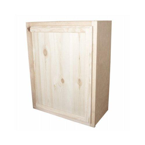 KAPAL W2430-PFP 24'' x 30'' Pine Wall Cabinet