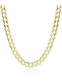 Men's 10k Yellow Gold 4.7mm Cuban Chain Necklace