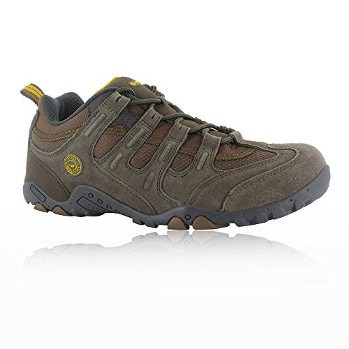 Hi Tec Walking Shoes - Hi-Tec Quadra Classic Walking Shoes - SS18-11 - Brown