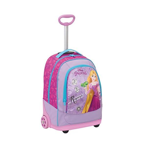Big Trolley Disney , PRINESS DREAMY DRESS , Rosa , 30 Lt , 2in1 Zaino con spallacci a scomparsa , Scuola & Viaggio 2 spesavip