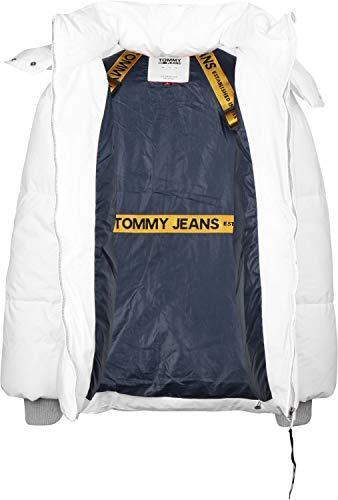 Tommy W Bianco Jeans Oversized Invernale Giacca Puffa w6qrwHYx