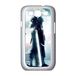 Final Fantasy Boy Samsung Galaxy S3 9300 Cell Phone Case White Delicate gift JIS_410434