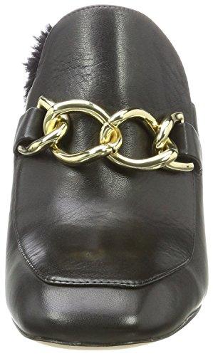 ALDO Damen Umarella Pantoletten Schwarz (Black Leather)