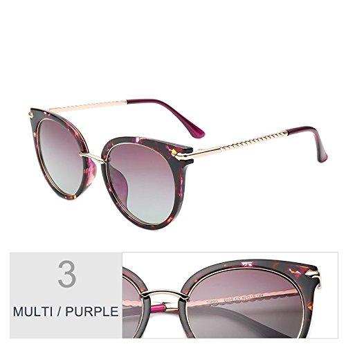 De Púrpura Negro Conducir Gato Clásico Libre Mujer TIANLIANG04 Gafas Para Multi Sol Gafas Polarizadas Cateye Ojo Aire Uv400 Purple Al De Multi Gafas Rosa Sol De qWgR0t