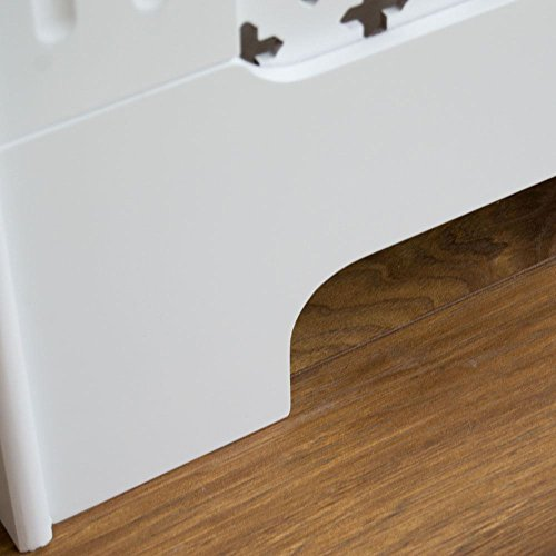 Painting Mdf Kitchen Cabinets White: Home Discount Oxford Radiator Cover White Traditional