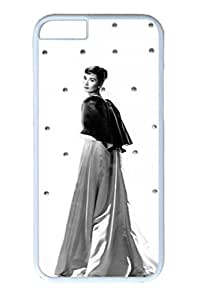 PC White Color Hard Case For iPhone 6 Plus New Version Case Suit iPhone6 Super Beautiful And Ultra thin case Easy To Operate Audrey Hepburn 54