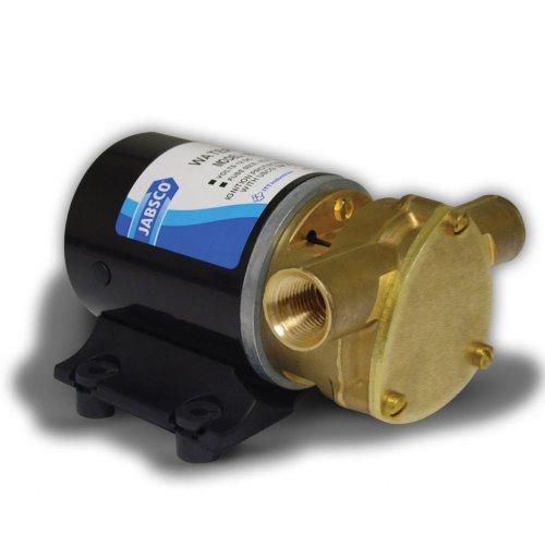 Jabsco 18660-0121 Marine Water Puppy Bilge / Sump Flexible Impeller Pump 6.3 GPM, 12-Volt, 15-Amp Non-CE, 1/2