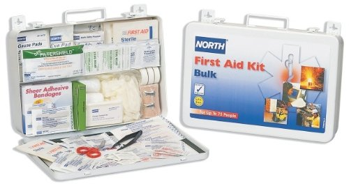 North by Honeywell 019707-0004L 75 person Kit, Bulk, Steel
