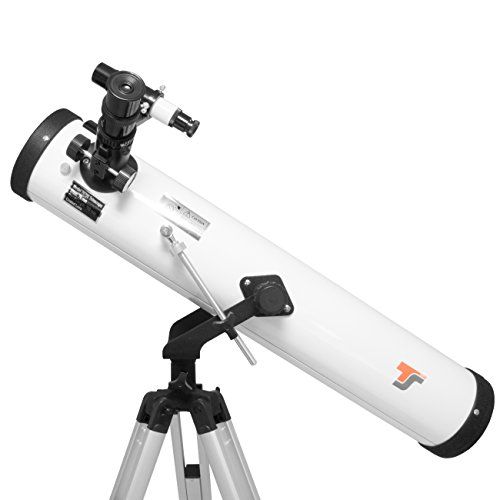 TS-Optics Reflector Telescope 76/700 with AZ-2 mount with much better...