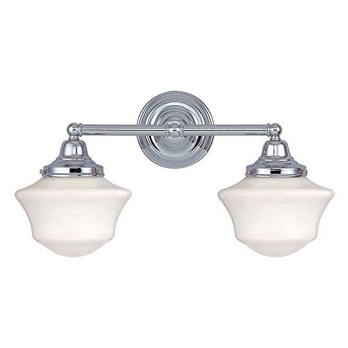 School House Lighting Amazoncom - Bathroom light fixture replacement parts